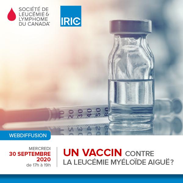 Un vaccin contre la leucémie myéloïde aiguë?